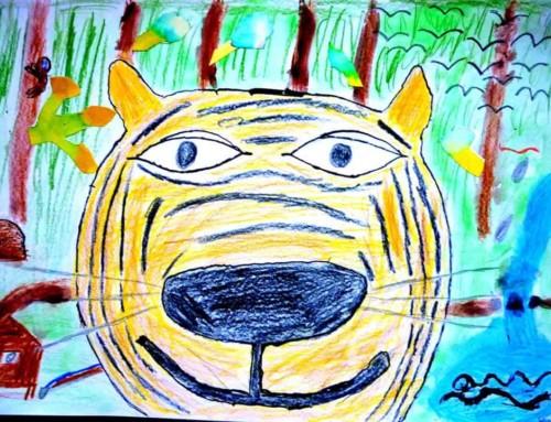 Soutěž Namaluj si svého Tygra spěje ke svému závěru